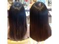 サラサラ、ツヤツヤ髪質改善ハリスノフトリートメント