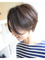 ゲストスナップ【437】ベージュ×ハンサムショート