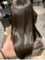 髪質改善、酸熱トリートメント。
