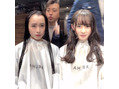 シェルハ(XELHA) リアルお客様before→after暗髪ロング 前髪あり
