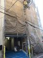 ココ ヘアーアンドライフスタイル(COCO hair&lifestyle)現在、ビルの塗装工事を行っております。