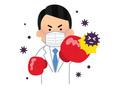 コロナウイルス対策をして営業しております!