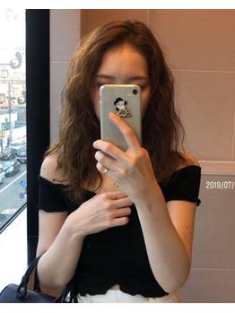 韓国人風ヒッピーパーマ_20190905_2