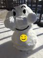 雪だるマン!!