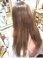 ☆赤味消し白髪染め☆脱グレイカラーのグレーなカラー