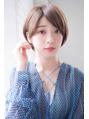 新宿joemi 大人可愛い小顔ショートボブ