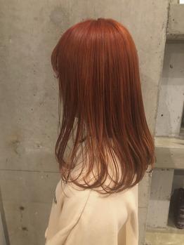 アプリコットオレンジカラー♪_20191016_1