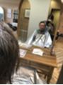店長の髪を切ります!(笑)
