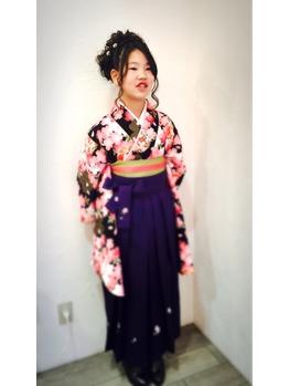 卒業式★今時の小学生は袴を着ます_20160320_1