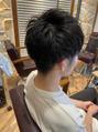 ツーブロ刈り上げヘア
