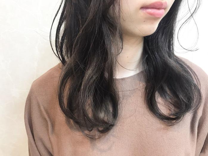 成人式カラー☆/暗髪グレーアッシュ♪_20200109_1