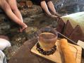 足湯カフェ