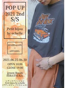 POPUP第2弾☆開催決定!2021.6.25-2021.6.30_20210603_1