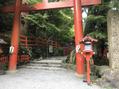休日に貴船神社へ^^