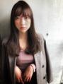 【松盛友美子】秋のラベンダーカラー