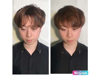 Before→After7 ふんわり縮毛矯正♪ 立川北口_20180315_3