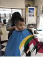 息子の髪切りました(^^)