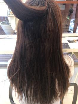髪の毛ってこうやって綺麗になっていくんです。_20170713_1