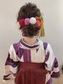 スノウ(SKNOW)袴とヘアアレンジ