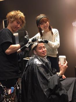 staffいまむー&みわちゃん春のカラーリングチェンジ_20160422_1