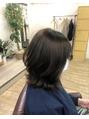 ワンレンスタイルのヘアアレンジ【大泉学園】