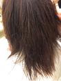 新メニュー『髪質改善』ご好評いただいております♪♪