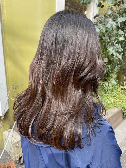 カラーとトリートメントで艶髪♪_20210329_1