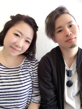 staffいまむー&みわちゃん春のカラーリングチェンジ_20160422_4