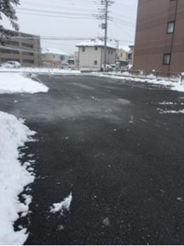 雪かき完了!!_20180123_3