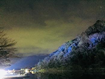 嵐山竹林ライトアップ★_20171218_3
