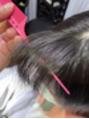 Q.縮毛矯正で自然な丸みの前髪は作れる?A.作れます。