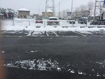 雪かき完了!!_20180123_1