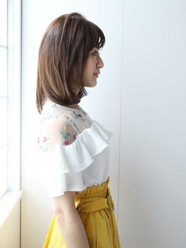 ☆髪質改善!弱酸性縮毛矯正×ミディアムボブ☆_20190608_1