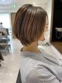 髪質改善で作るおさまりの良いショートヘア