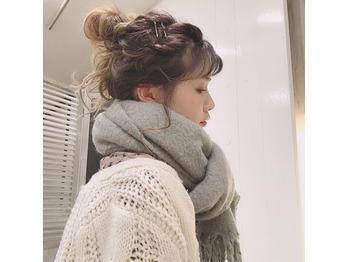 冬のヘアアレンジ☆