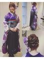 卒業式 袴 着付け★ヘアセット