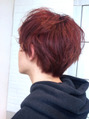 pinkボルドーヘアー**