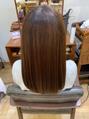 『髪質改善 酸熱トリートメント』