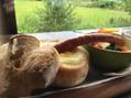 パンにチーズが最高じゃねか