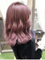 ブリーチ1回☆pink purple