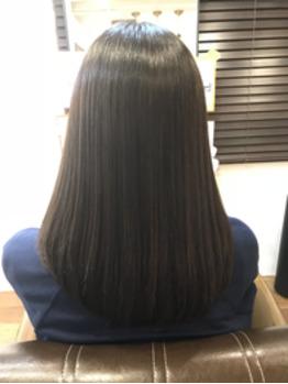 髪質改善ストレート(縮毛矯正) アフター_20181130_1