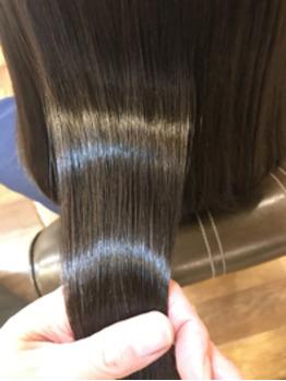 髪質改善ストレート(縮毛矯正) アフター_20181130_2