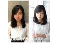☆髪質改善!弱酸性ストパーカールで自然な髪質に☆