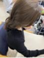 カヤックバイハニー 渋谷店(KAYAK by HONEY)【HONEY渋谷】小室 大人の透明感UPマロンベージュ