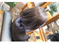 コバルトブルー~裾カラー~
