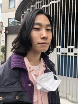メンズパーマ/クセ毛風/ヘアカタログ撮影_20201115_2
