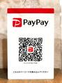 PayPay導入してます!