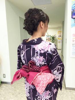 浴衣アレンジ♪♪_20160810_3