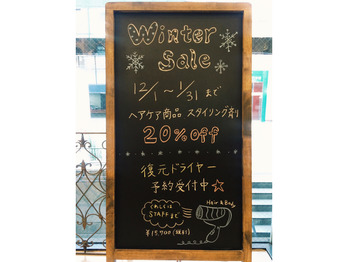 好評☆winter sale!!_20161208_1