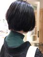 黒髪ショート☆大島知子